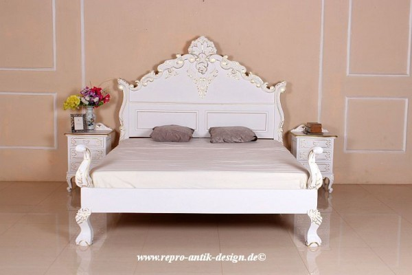 barock bett shell betten shop repro antik design. Black Bedroom Furniture Sets. Home Design Ideas
