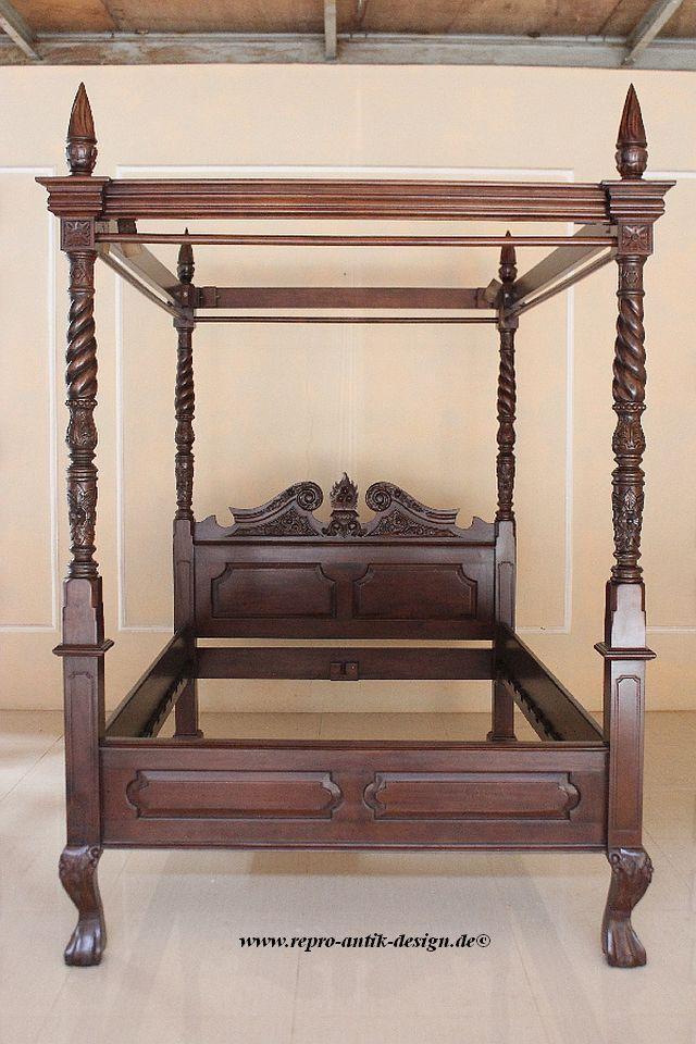 barock bett himmelbett canopy betten onlineshop. Black Bedroom Furniture Sets. Home Design Ideas