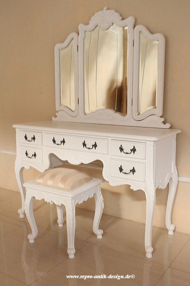 barock schminktisch rdm 016 schminktische spiegel. Black Bedroom Furniture Sets. Home Design Ideas