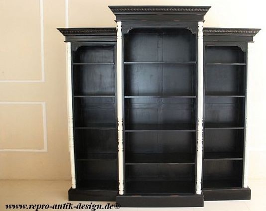 barock b cherregal icb 038 schr nke regale shop repro antik. Black Bedroom Furniture Sets. Home Design Ideas