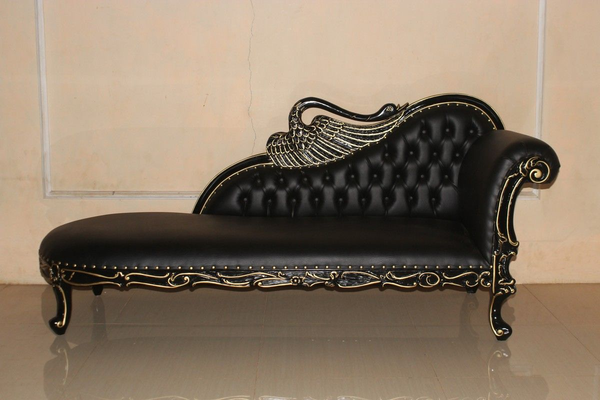 barock recamiere swan recamiere sofas sessel chaiselongue shop repro antik design. Black Bedroom Furniture Sets. Home Design Ideas