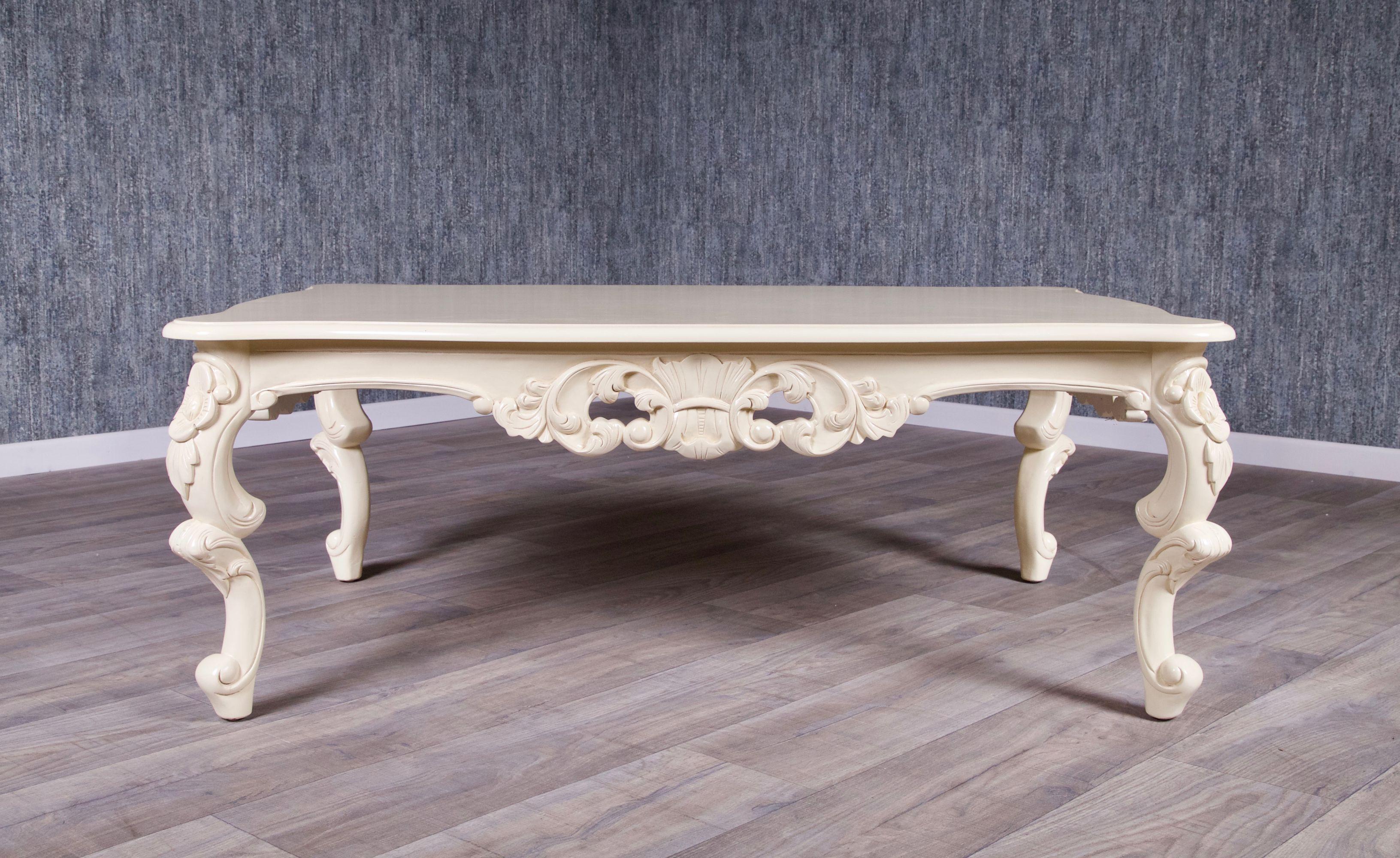 Barock Couchtisch Elfenbein Couchtische Sofas Sessel