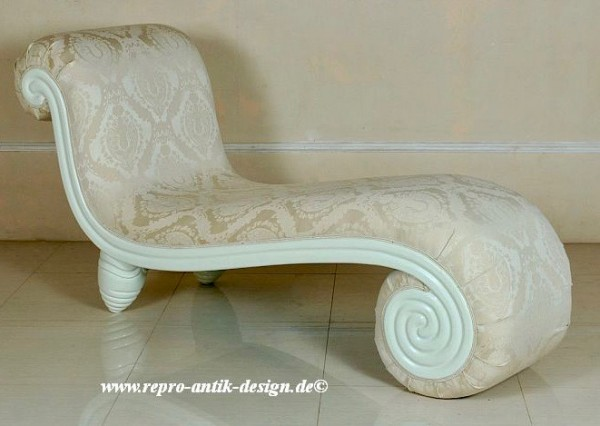Barock Sofa Polstermöbel, Repro-Antik-Design, Mahagoni massiv Holz,