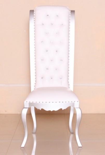barock stuhl raissa ohne armlehne mit strass st hle shop repro antik. Black Bedroom Furniture Sets. Home Design Ideas