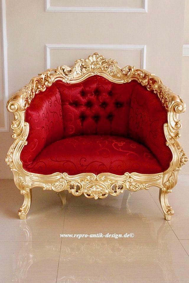 barock sofa garnitur french inkl couchtisch belegt mit blattgold sofas sessel chaiselongue. Black Bedroom Furniture Sets. Home Design Ideas
