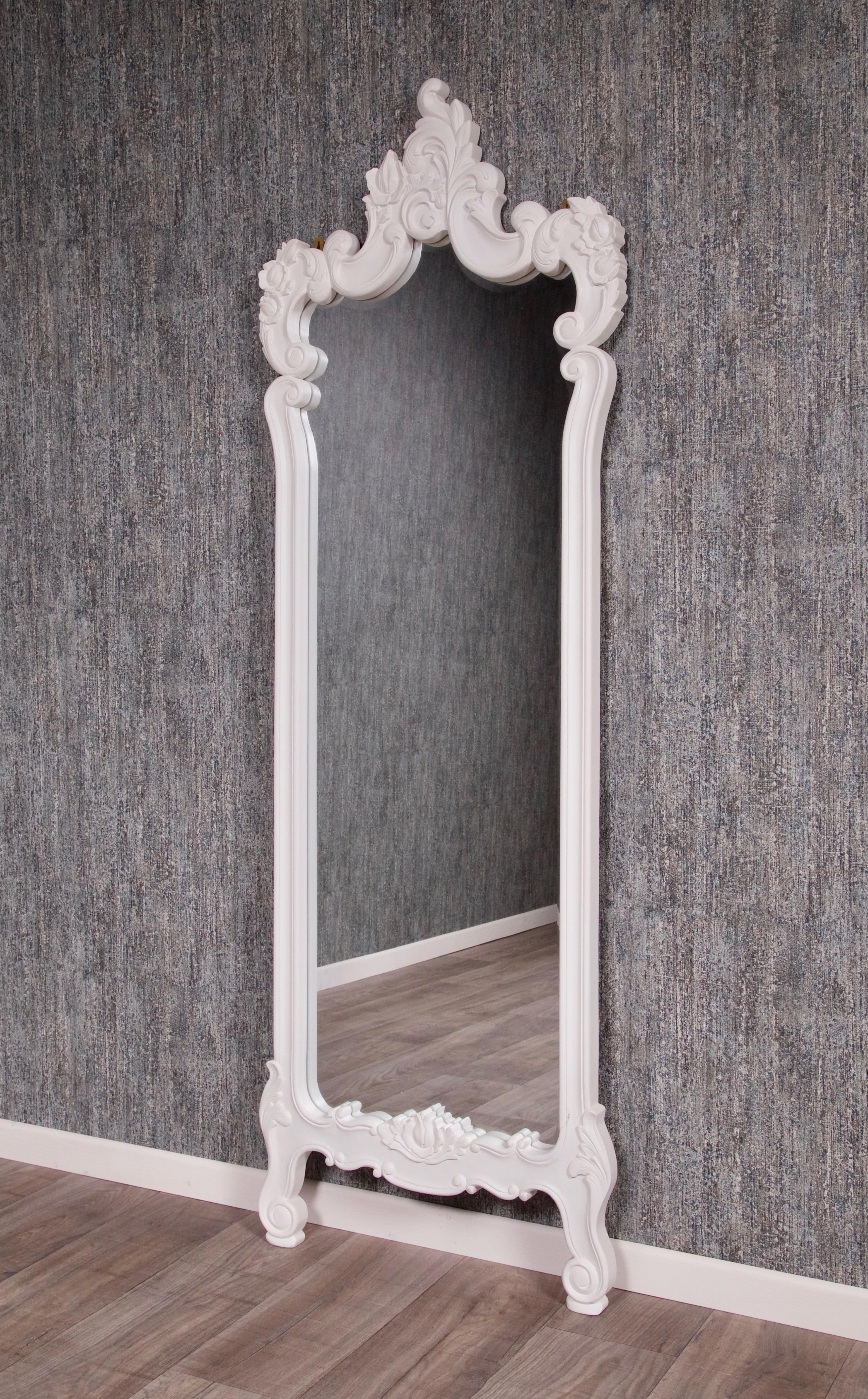 barock wandspiegel antik wei schminktische spiegel shop repro antik design. Black Bedroom Furniture Sets. Home Design Ideas