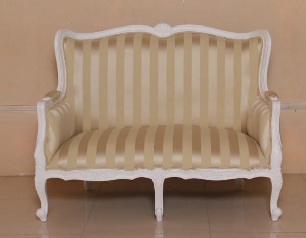 Barock sofa, Repro-Antik-Design, Mahagoni massiv Holz