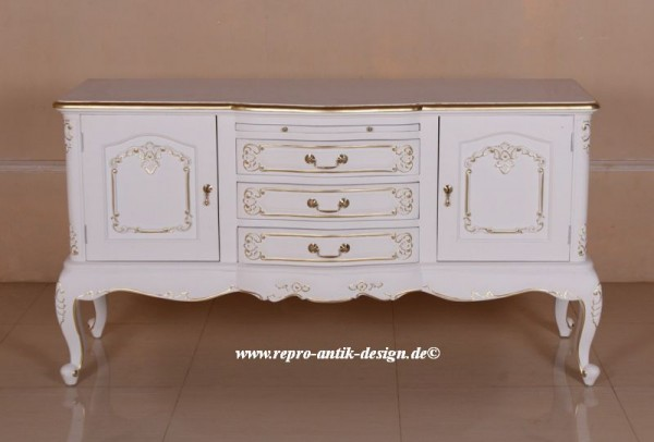 Barock kommode french reeves kommoden anrichten sideboards shop repro antik design - Kommode lackieren ...