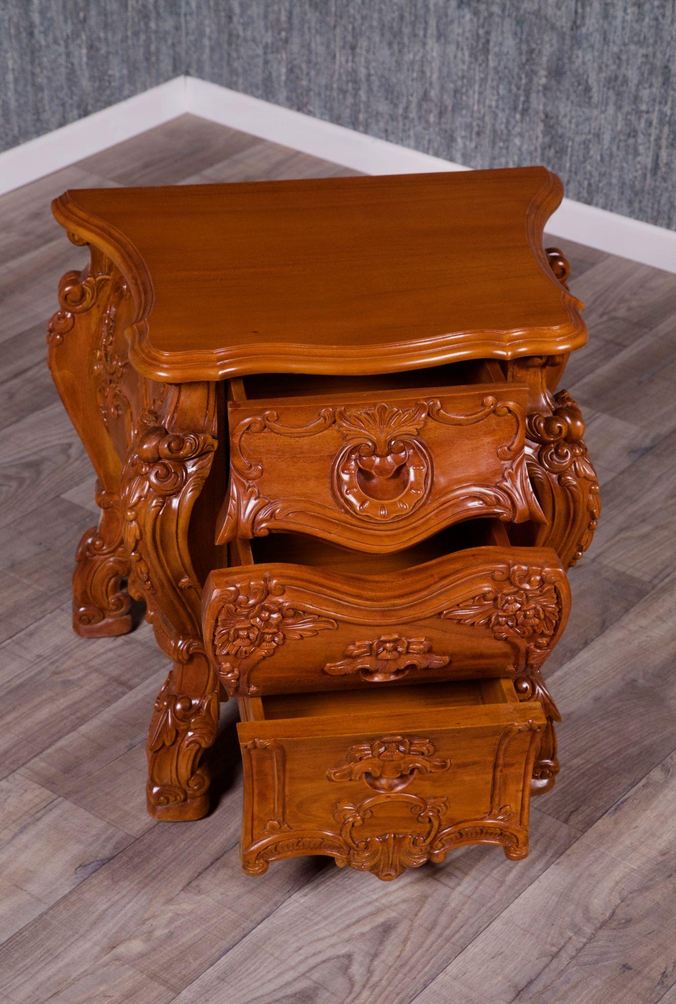barock nachttisch rtn nachttische onlineshop repro. Black Bedroom Furniture Sets. Home Design Ideas