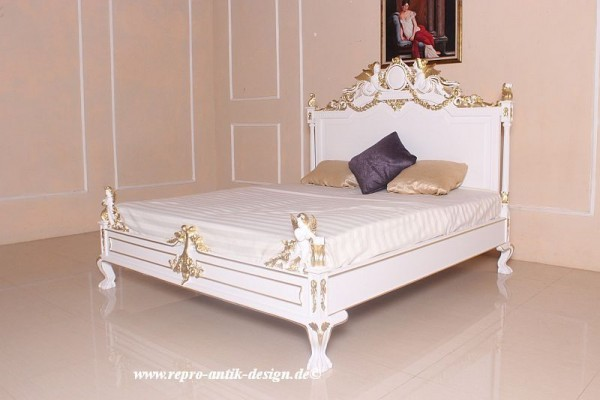 barock bett angel festive betten shop repro antik design. Black Bedroom Furniture Sets. Home Design Ideas
