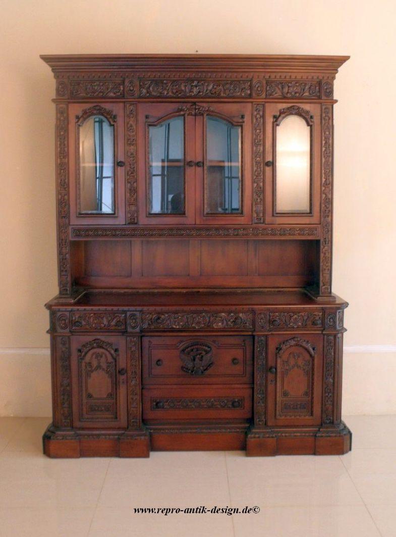barock wohnzimmer schrank anrichte schr nke. Black Bedroom Furniture Sets. Home Design Ideas