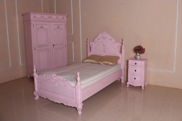 Barock Bett Kinderbett / Babybett Aceline
