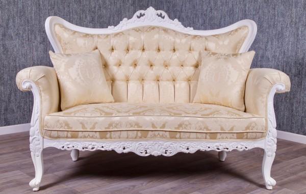 Barock Sofa Meisya 2-Sitzer