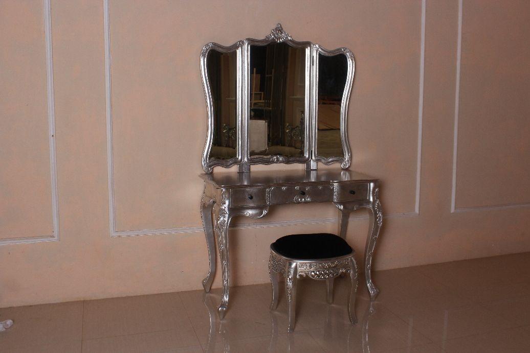 Barock Schminktisch Rochella Mit Stuhl Schminktische Spiegel Onlineshop Repro Antik Design