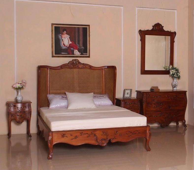 Barock schlafzimmer curved schlafzimmer komplett sets - Antik schlafzimmer komplett ...